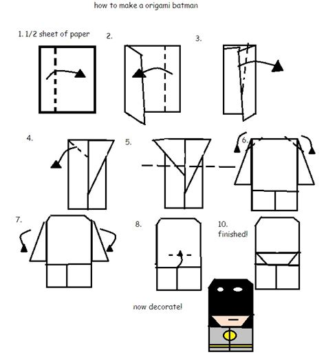 how to make a origami person how to fold origami paperman by arty12300 on deviantart