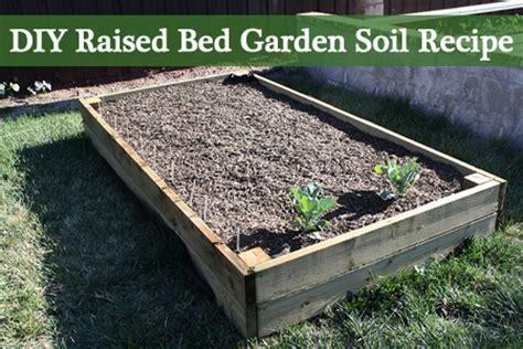 best soil for raised vegetable garden beds diy raised bed garden soil recipe