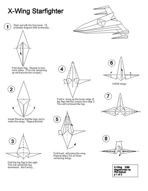 how to make origami wars ships origami x wing starfighter follow the link for the rest