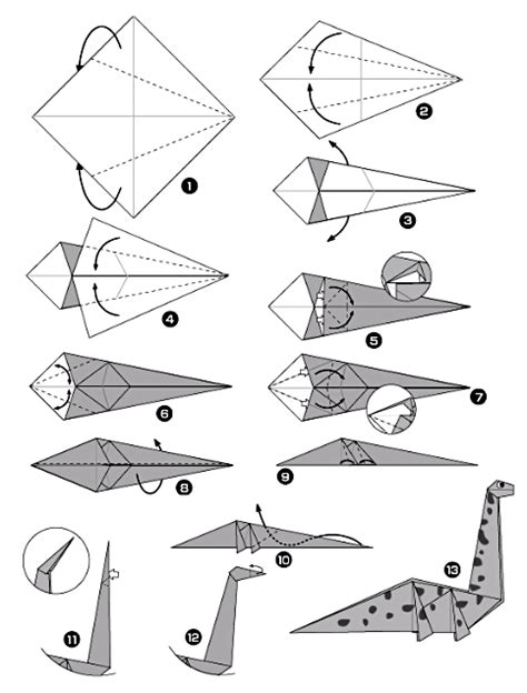 origami diplodocus origami diplodocus origami day chaque jour origami