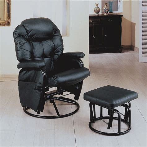 swivel rockers with ottomans black swivel rocker recliner with ottoman free shipping