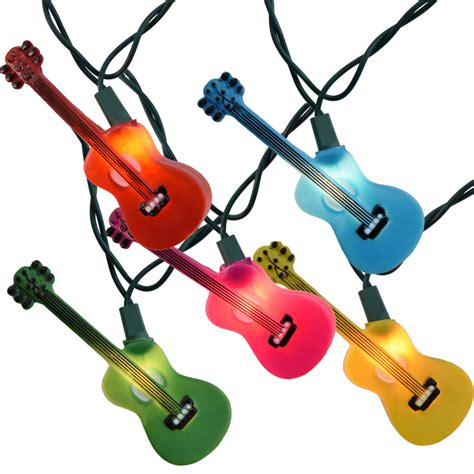 light guitar strings multi color guitars novelty string lights
