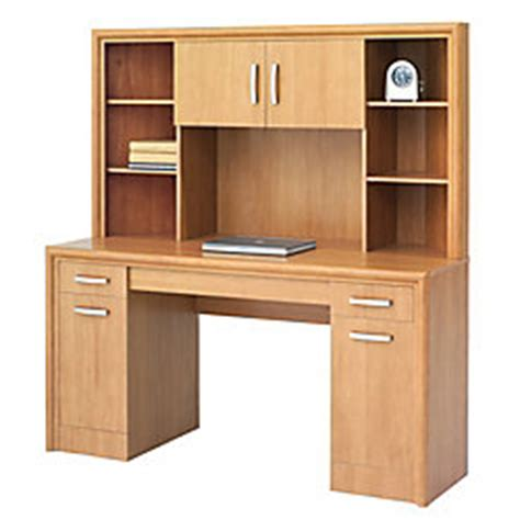 office depot desk with hutch office depot brand state corner desk with hutch 62