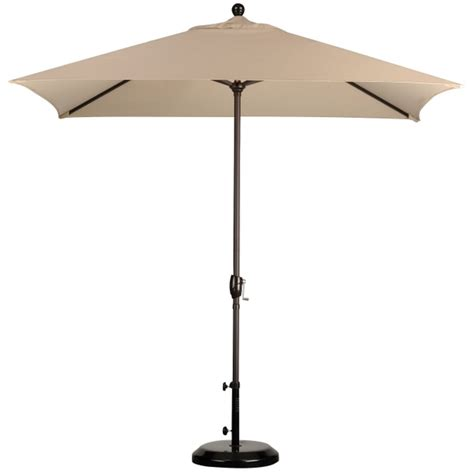 rectangular patio umbrella 8 x 6 rectangular market umbrella leisure select