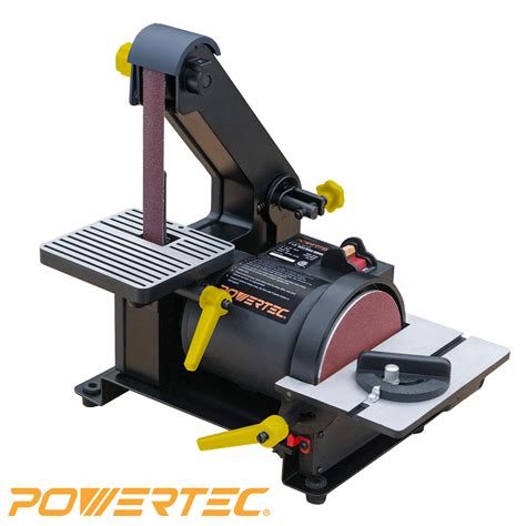 sears woodworking power tools powertec bd1500 woodworking belt disc sander 1 inch by 5 inch