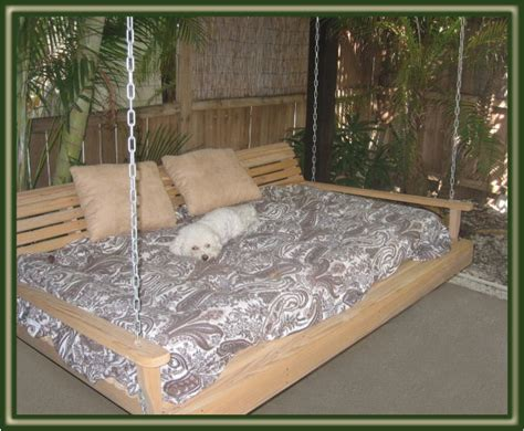 swinging bed frame swing beds porch bed on swing beds patio