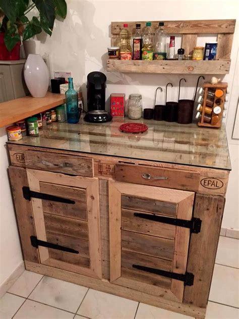 diy kitchen furniture 70 pallet ideas for home decor pallet furniture diy part 6