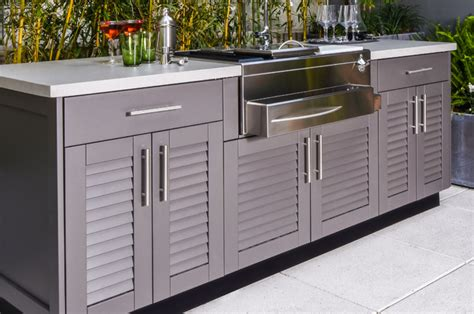 outdoor kitchen cabinets stainless steel outdoor kitchen cabinets brown outdoor kitchens