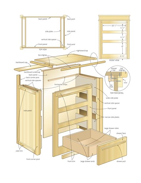 how to make woodworking plans nightstand with storage woodworking plans woodshop plans