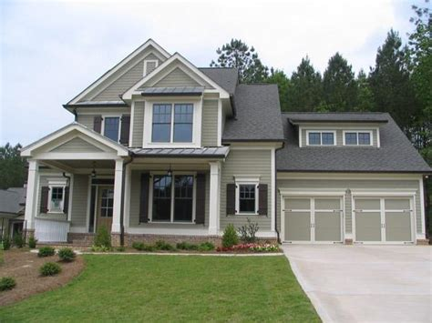exterior house paint colors with black trim home exterior