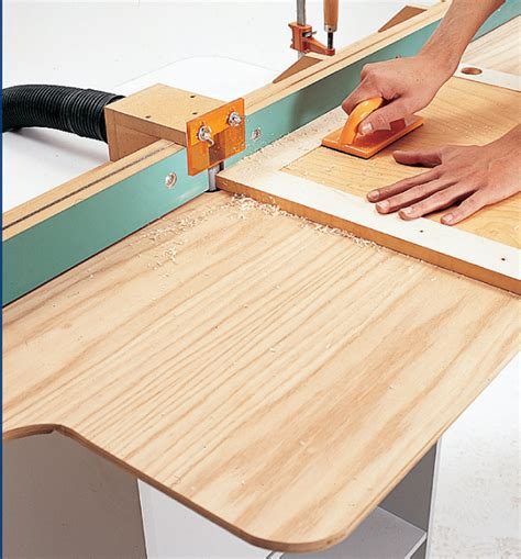 woodworking projects using router router table jointer fence popular woodworking magazine