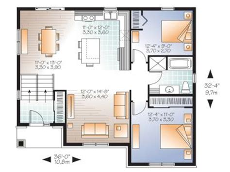 small split level house plans small house plans small split level home plan fits a narrow lot 027h 0326 at thehouseplanshop
