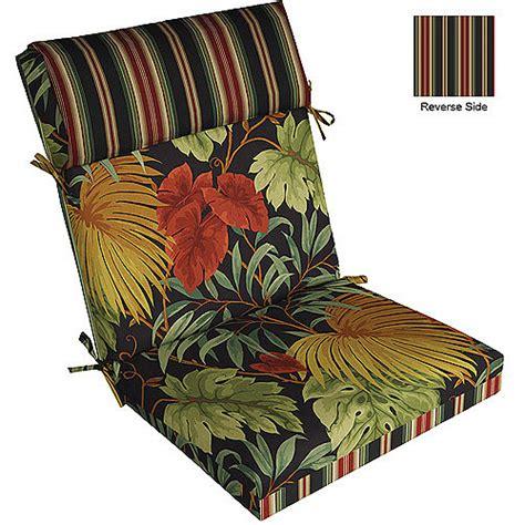 patio chair cushions walmart pillow top chair cushion multipe patterns walmart