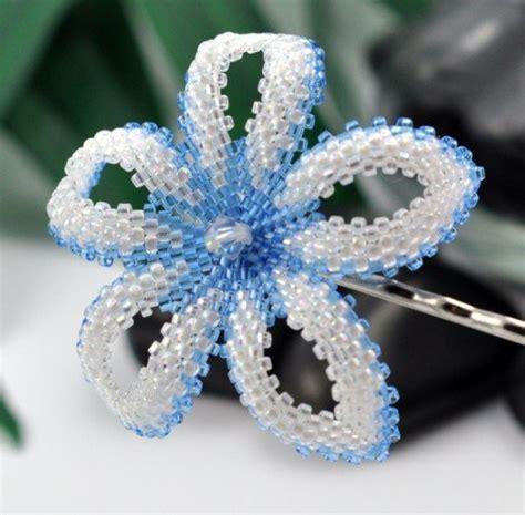 beaded flower pattern beaded rings free patterns tutorials