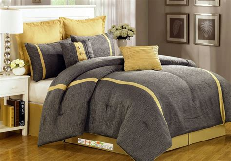 gray and yellow comforter sets grey and yellow comforters simple bedroom with