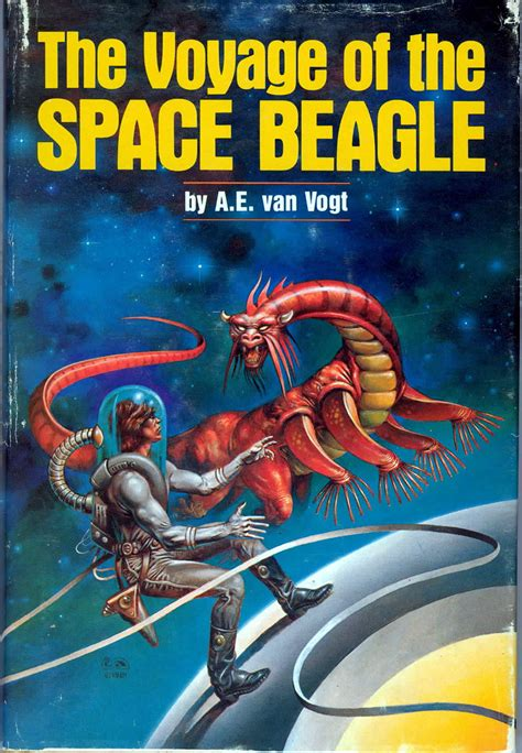 science fiction picture books the voyage of the space beagle vogt