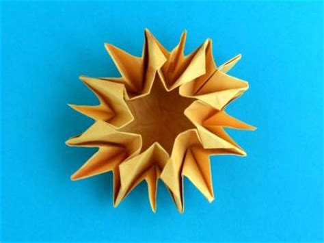 origami sunflower step by step joost langeveld origami page