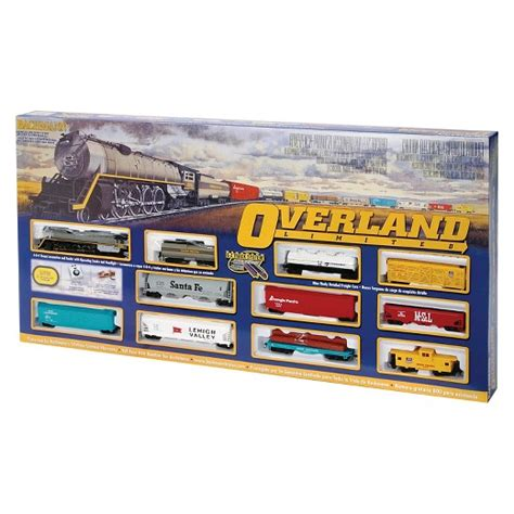 electric tree set bachmann trains overland limited ho scale ready to run