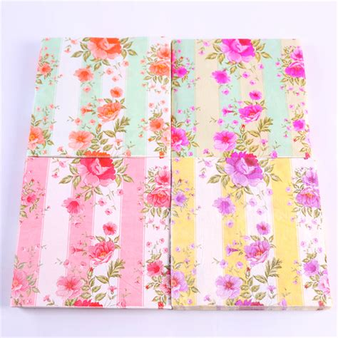 decoupage napkins wholesale buy wholesale floral paper napkins from china