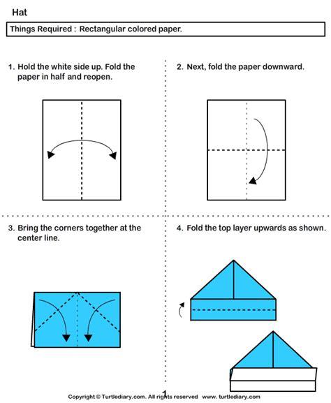 origami boat hat easy origami boat hat comot