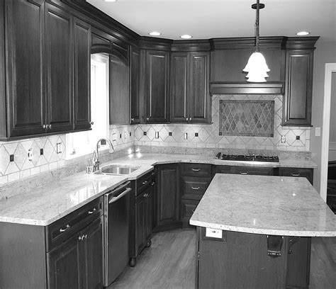 Kitchen Backsplash Ideas On A Budget straight l shaped kitchen layout with island for hangover