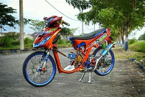 Modif Mio Soul Drag by Gambar Modifikasi Mio Drag Racing Paling Keren 2017