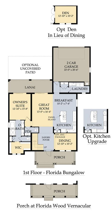 floor plans florida florida floor plans for new homes house plans