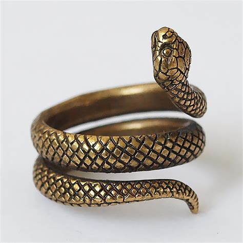 ring jewelry snake ring snake jewelry snake rings snakes size 55 ring