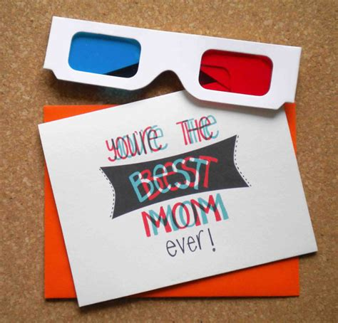 how to make 3d mothers day cards 18 creative diy mothers day cards