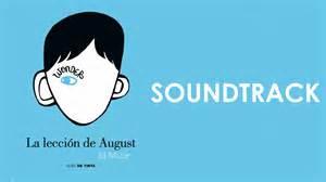 La Lecci 243 N De August Original Book Soundtrack