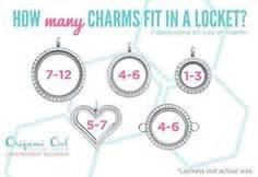 how many charms fit in origami owl lockets origami owl locket ideas on origami owl