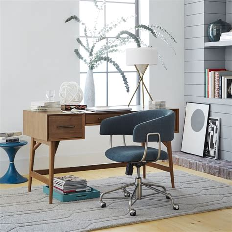 mid century office desk modern computer desk designs that bring style into your home