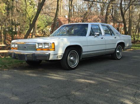 ford crown victoria sedan 1988 gray for sale 2fabp74f8jx153908 21k ford ltd crown victoria lx