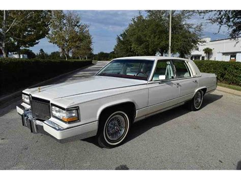 1992 Cadillac Brougham For Sale by 1992 Cadillac Brougham For Sale Classiccars Cc 909067