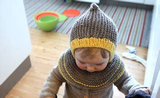pickles knitting ravelry cool kid hooded hat artig skrue hettelue