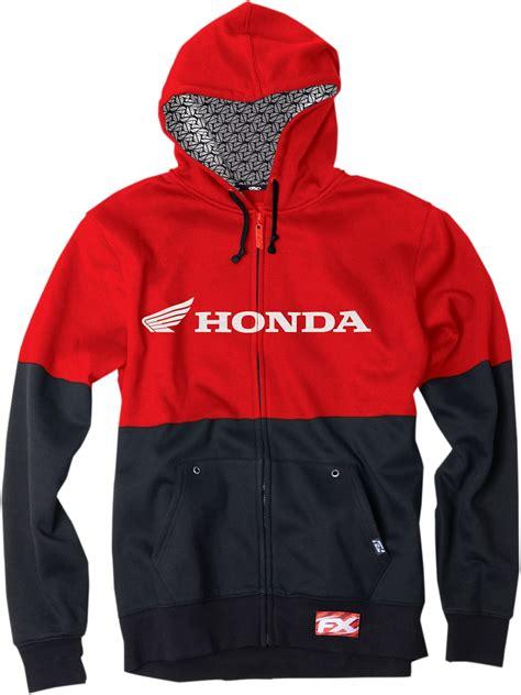 Honda Hoodie by Factory Effex Apparel Honda Zip Up Hoodie 2xl Black Ebay