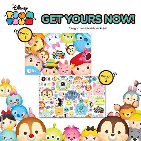make new student ez link card ez link releases new collection of tsum tsum ez link cards