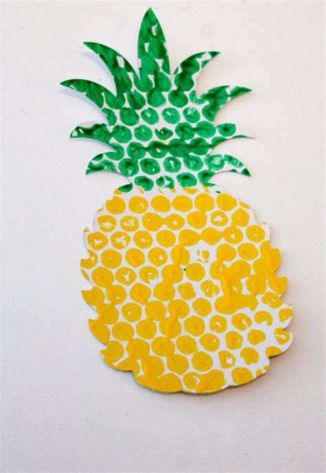 pineapple paper craft 25 best ideas about pineapple craft on