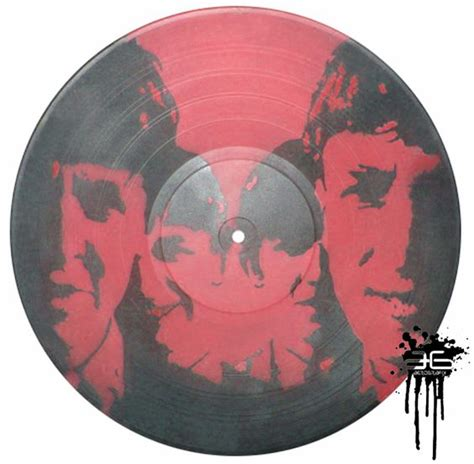 spray paint records the beatles 1 work spray paint on lp record vinyl