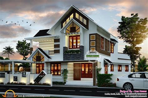 home design for house modern house plan kerala home design and