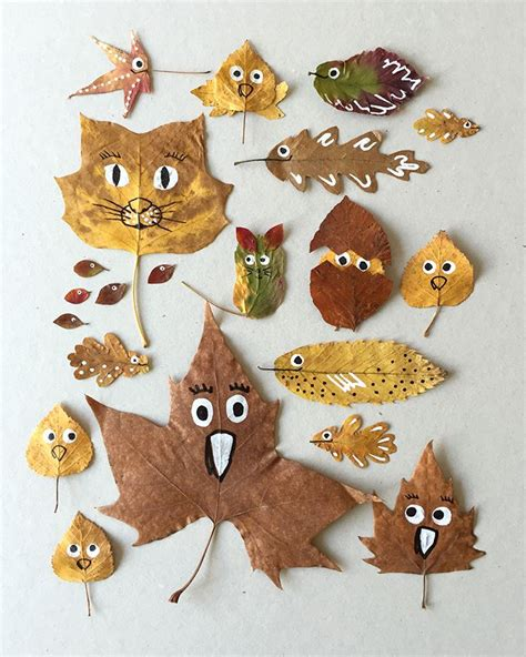 leaf crafts projects best 25 leaf ideas on leaf crafts