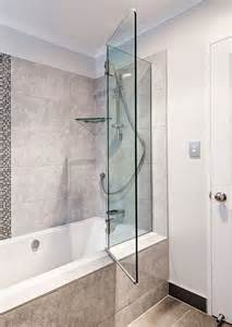 Folding Glass Bath Shower Screen bath screens shower solutions