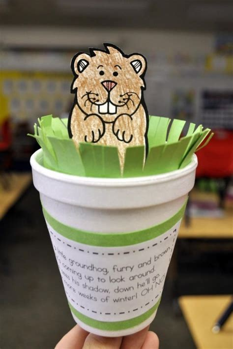 groundhog day crafts for groundhog day crafts activities and snacks