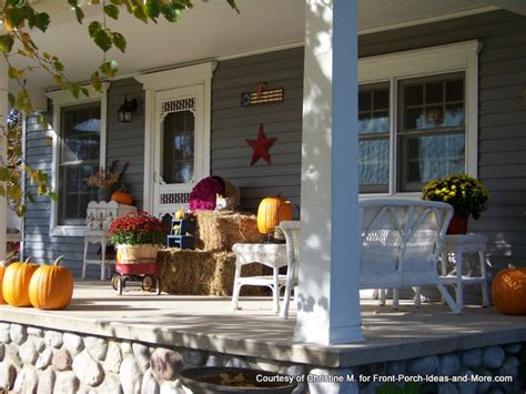how to decorate a front porch for 12 easy fall decorating ideas for your porch or yard