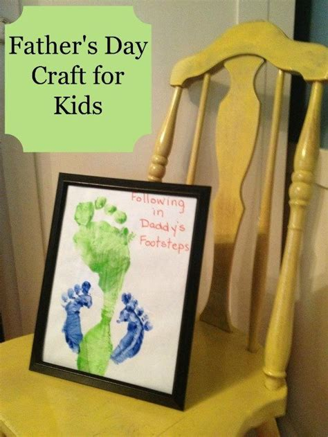 fathers day craft ideas for to make s day craft for following in s footsteps
