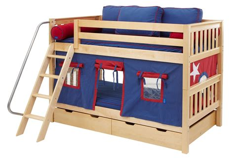 maxtrix bunk bed maxtrix low bunk bed w angled ladder