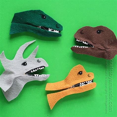 dinosaur crafts for clothespin dinosaur craft crafts by amanda