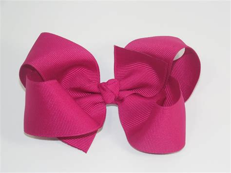 how to make large bows how to make a big boutique hair bow