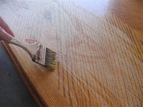 painting varnished woodwork craft envy how to stain a wood table