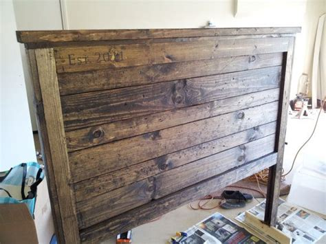 Barnwood Headboard Woodworking Projects Plans